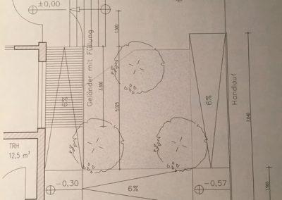Bau einer Rollstuhl und Kinderwagen Rampe (1)
