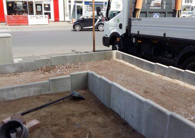 Bau einer Rollstuhl und Kinderwagen Rampe (10)