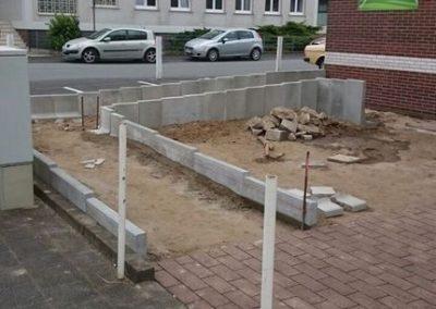 Bau einer Rollstuhl und Kinderwagen Rampe (11)