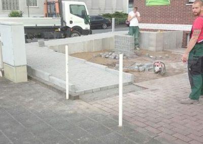 Bau einer Rollstuhl und Kinderwagen Rampe (12)