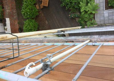 Erstellen von Holz- und WPC Terrassen (1)