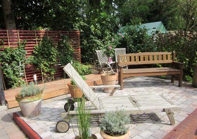 Erstellen von Holz- und WPC Terrassen (2)