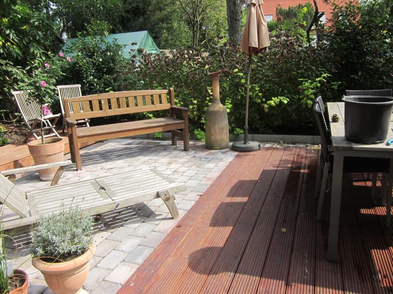 Erstellen von Holz- und WPC Terrassen (3)