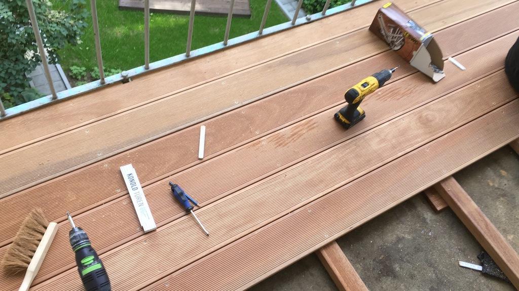 Erstellen von Holz- und WPC Terrassen (8)
